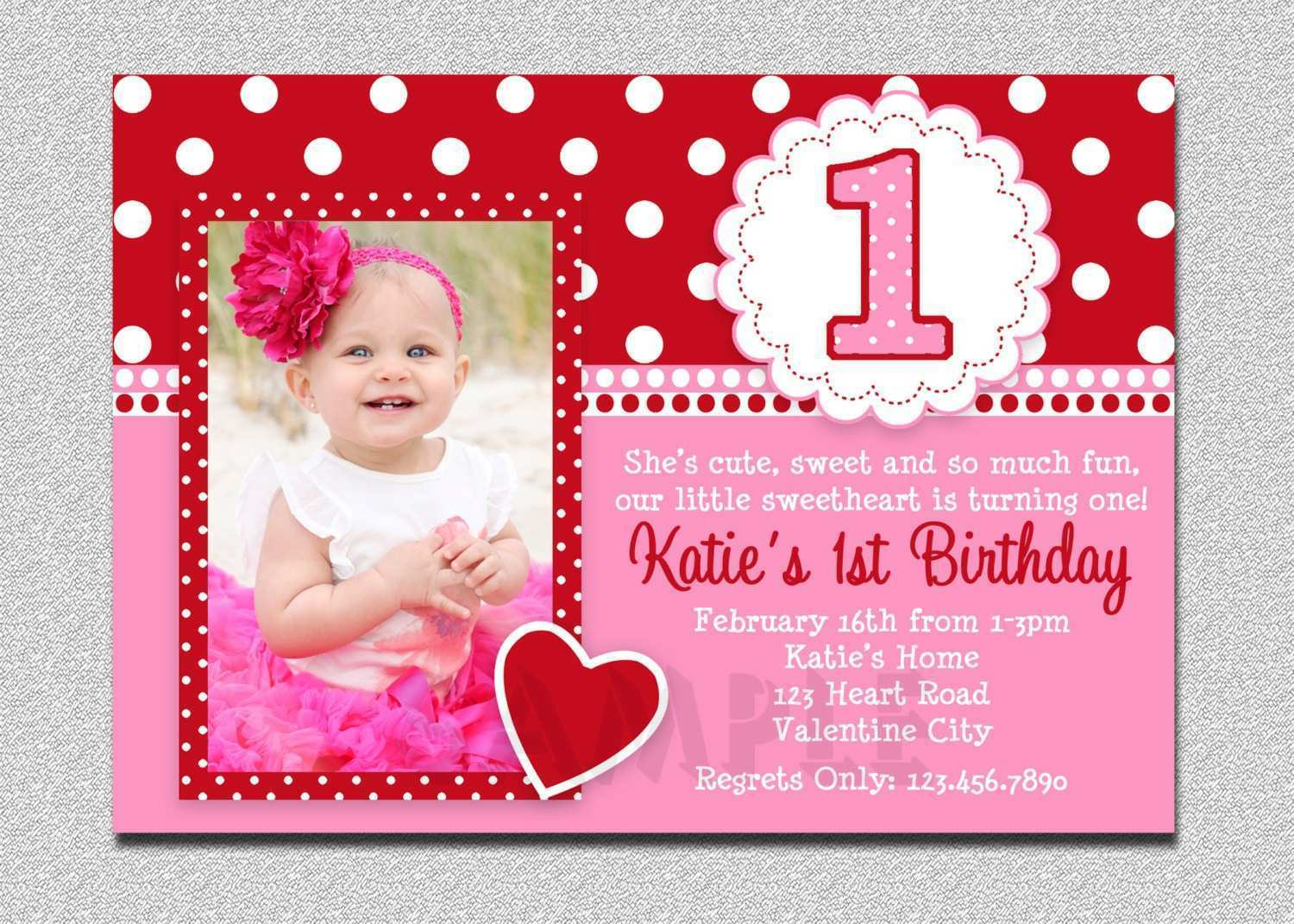68 Adding 1St Birthday Invitation Card Template Online Photo with 1St Birthday Invitation Card Template Online