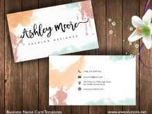 68 Best Business Card Templates Watercolor With Stunning Design by Business Card Templates Watercolor