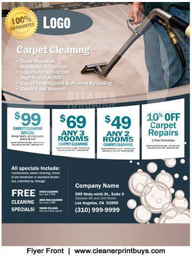 68 Best Carpet Cleaning Flyer Template Templates for Carpet Cleaning Flyer Template
