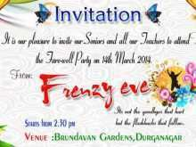 68 Best Farewell Party Invitation Card Templates in Photoshop with Farewell Party Invitation Card Templates