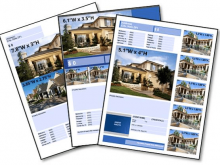 68 Blank Real Estate Flyer Templates Now by Real Estate Flyer Templates