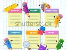 68 Creating Class Schedule Office Template Formating for Class Schedule Office Template