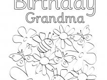 68 Creative Birthday Card Template Grandma Download for Birthday Card Template Grandma