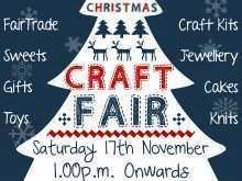 68 Creative Christmas Fair Flyer Template PSD File with Christmas Fair Flyer Template