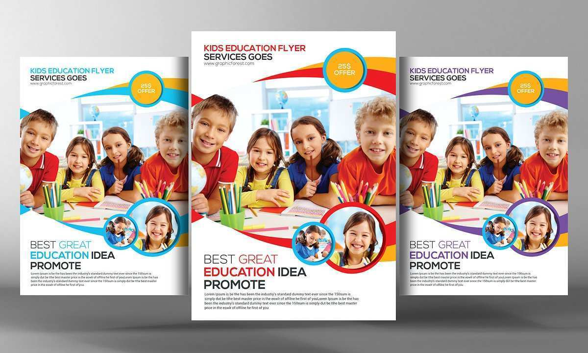 68 Creative Education Flyer Templates For Free by Education Flyer Templates