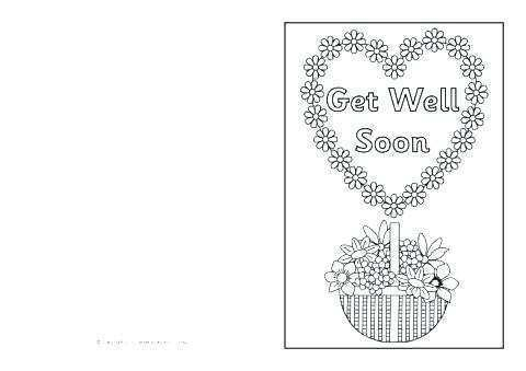 68 Customize Free Printable Get Well Soon Card Template Maker for Free Printable Get Well Soon Card Template