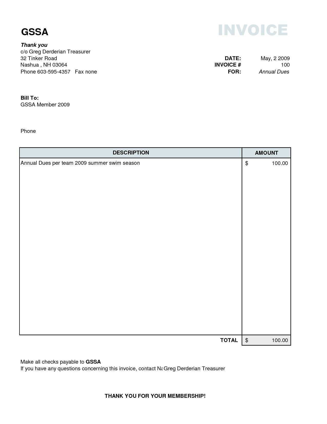 68 Customize Invoice Template Simple For Free For Invoice Template Simple Cards Design Templates