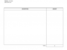 68 Customize Our Free Blank Invoice Template Pdf For Free with Blank Invoice Template Pdf