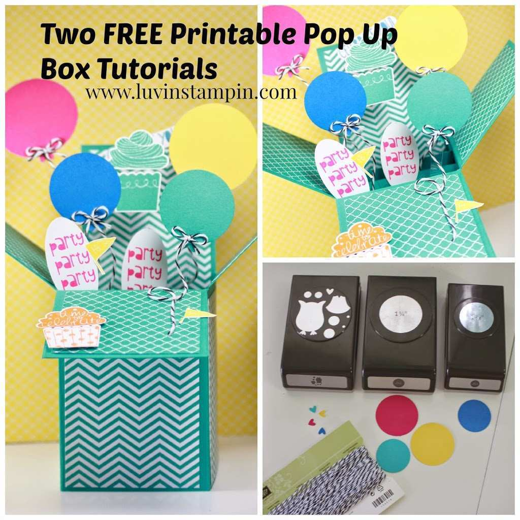 68 Customize Our Free Pop Up Card Box Tutorial Formating by Pop Up Card Box Tutorial