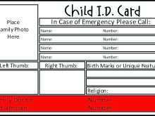 68 Emergency Id Card Template for Ms Word for Emergency Id Card Template