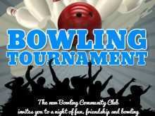 68 Format Bowling Event Flyer Template Templates with Bowling Event Flyer Template