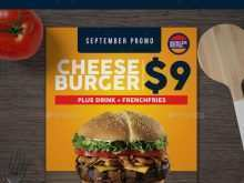 68 Free Burger Promotion Flyer Template for Ms Word for Burger Promotion Flyer Template