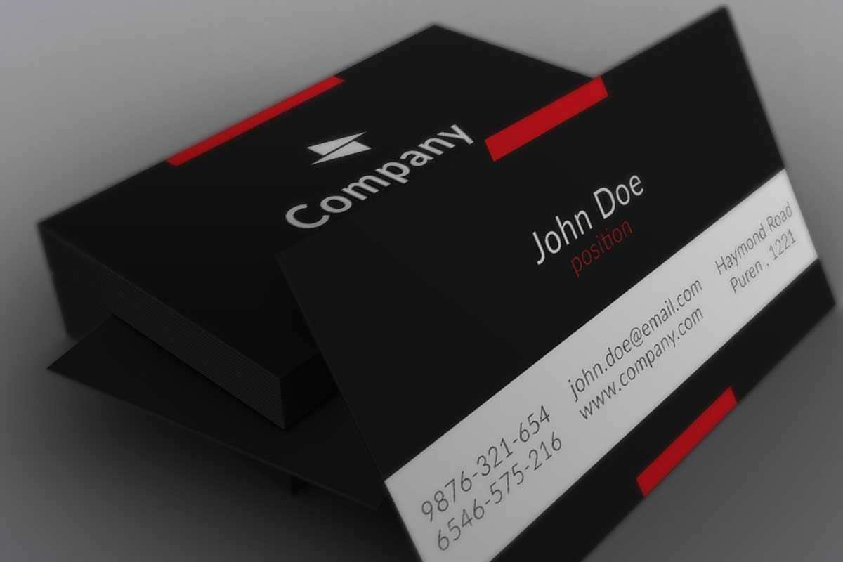 68 Free Clean Business Card Template Free Download Templates with Clean Business Card Template Free Download