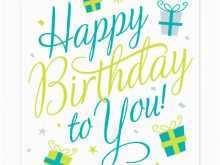 68 Free Printable Design A Birthday Card Template Maker for Design A Birthday Card Template