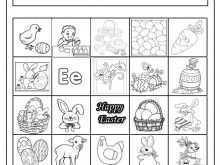 Easter Card Templates For Preschool
