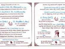 68 Free Wedding Card Designs Templates Telugu Formating by Wedding Card Designs Templates Telugu