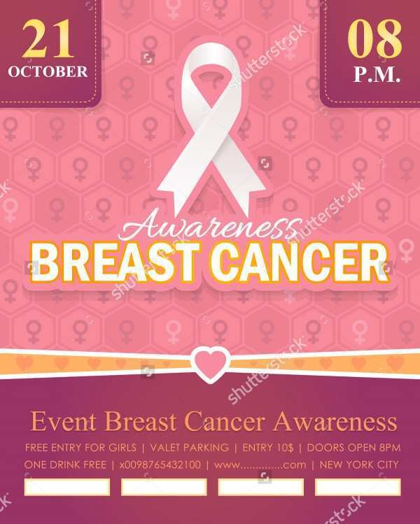 68 How To Create Breast Cancer Flyer Template in Photoshop with Breast Cancer Flyer Template