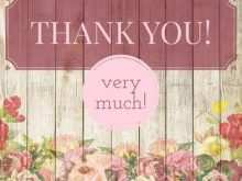 Thank You Card Template Adobe Illustrator
