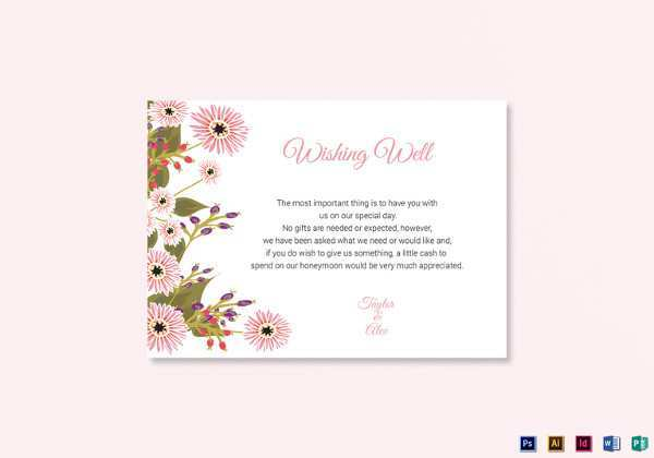 68 Online Wedding Card Wishes Template for Ms Word with Wedding Card Wishes Template