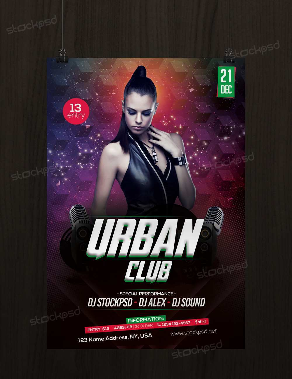 68 Printable Club Flyer Templates Free Download for Ms Word for Club Flyer Templates Free Download