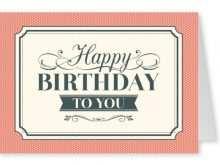 68 Printable Custom Birthday Card Template For Free for Custom Birthday Card Template