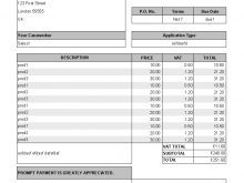 68 Printable Tax Invoice Form Thailand in Word by Tax Invoice Form Thailand