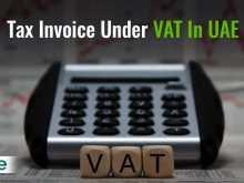 Uae Vat Invoice Format Fta