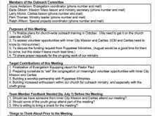 68 Report Church Conference Agenda Template Formating for Church Conference Agenda Template