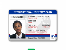68 Report Id Card Template Portrait in Photoshop for Id Card Template Portrait