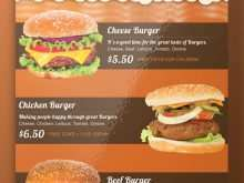 68 Standard Burger Flyer Template For Free by Burger Flyer Template