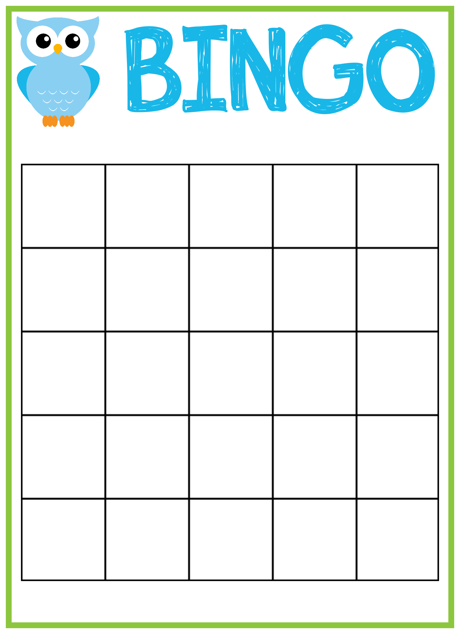 21 Visiting Bingo Card Template For Word for Ms Word by Bingo Card For Bingo Card Template Word