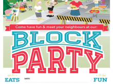 69 Adding Block Party Template Flyers Free PSD File by Block Party Template Flyers Free