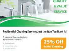 69 Adding Cleaning Services Flyers Templates Free Maker with Cleaning Services Flyers Templates Free