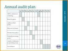 Internal Audit Plan Template Excel