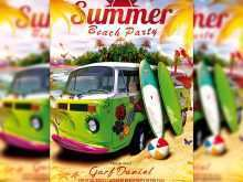69 Best Beach Party Flyer Template Download with Beach Party Flyer Template