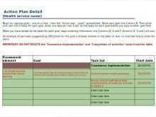 69 Blank Audit Action Plan Template Excel PSD File by Audit Action Plan Template Excel
