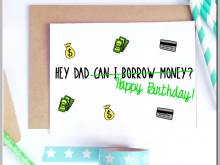 69 Blank Birthday Card Template For Dad Photo by Birthday Card Template For Dad