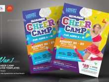 69 Blank Cheer Camp Flyer Template Maker with Cheer Camp Flyer Template
