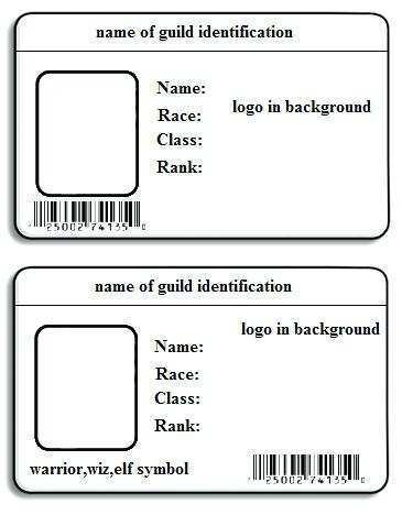 69 Blank Id Card Word Template Download Now by Id Card Word Template Download