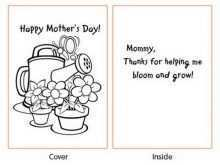 69 Create Mother S Day Card Craft Template Templates with Mother S Day Card Craft Template