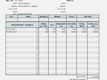 69 Creating Vat Invoice Example Uk in Word by Vat Invoice Example Uk
