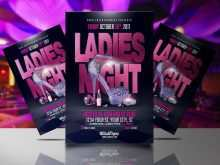 69 Creative Ladies Night Flyer Template Free For Free by Ladies Night Flyer Template Free