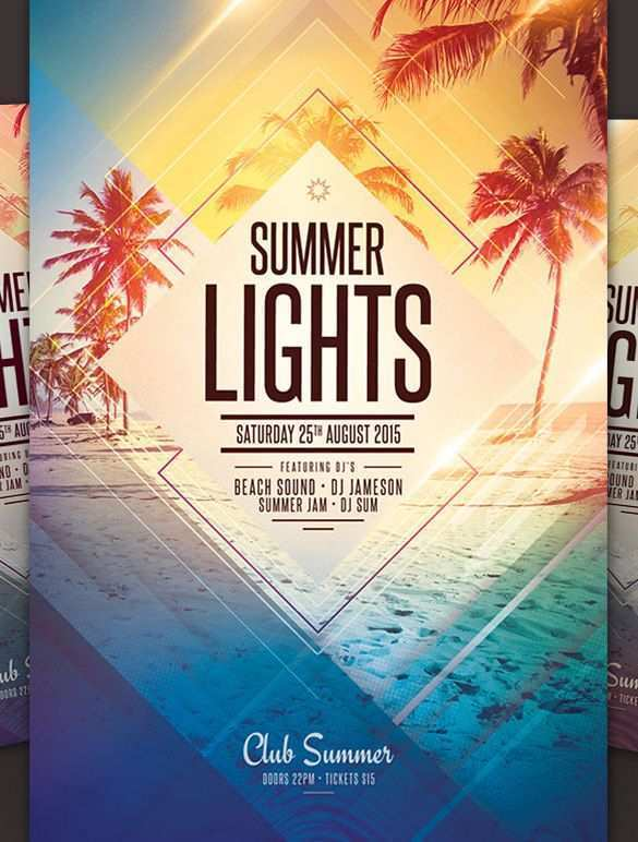 69 Creative Party Flyer Template Free PSD File with Party Flyer Template Free