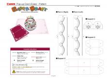 69 Creative Pop Up Card Templates Printables Free for Ms Word for Pop Up Card Templates Printables Free
