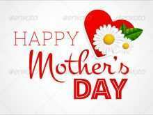 69 Creative Template Of Mother S Day Card Layouts by Template Of Mother S Day Card