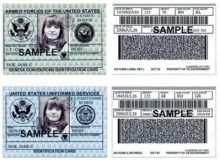 69 Creative Us Army Id Card Template Templates with Us Army Id Card Template