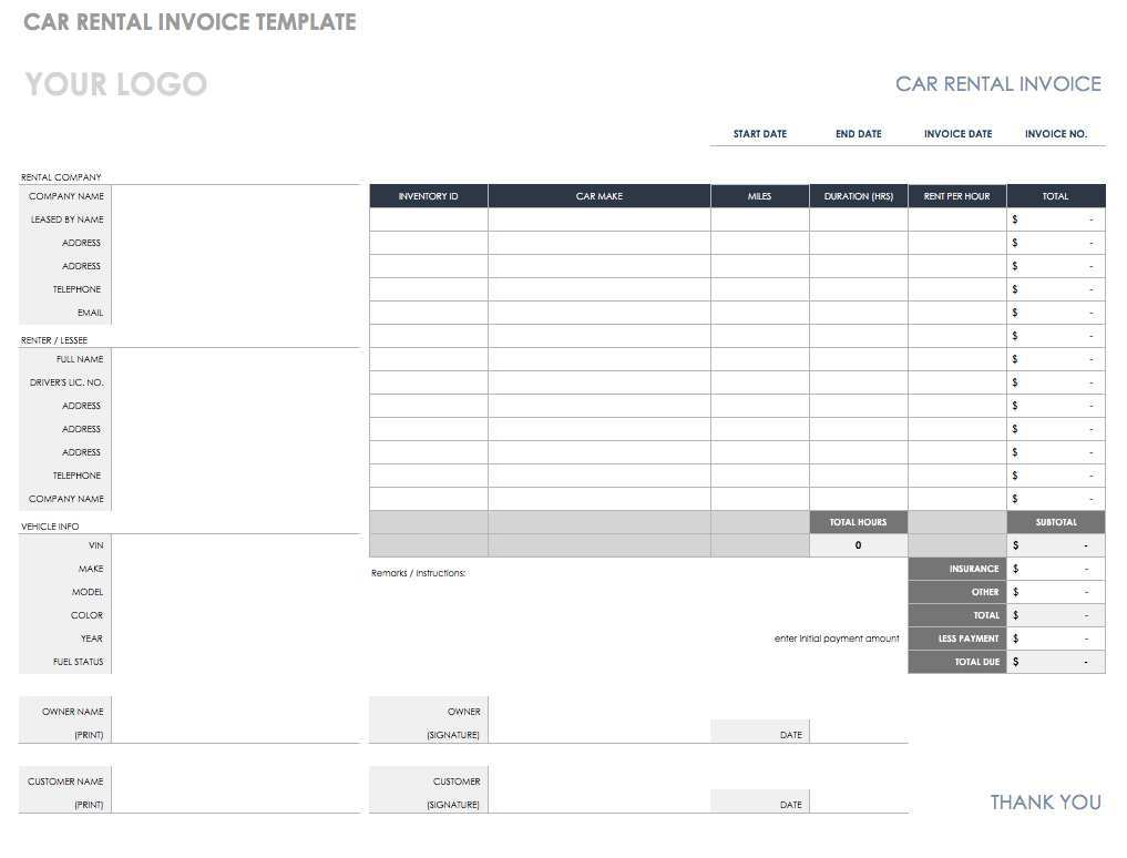 69 Customize Blank Rent Invoice Template in Photoshop for Blank Rent Invoice Template