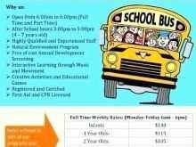 69 Customize Bus Trip Flyer Templates Free Maker with Bus Trip Flyer Templates Free