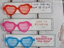 69 Customize Card Glasses Template With Stunning Design by Card Glasses Template
