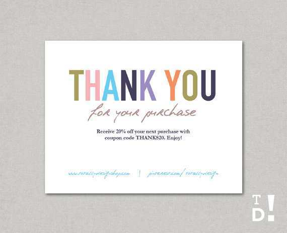Card Template Etsy Psd File